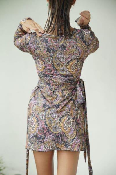 SHIRT DRESS PAISLEY