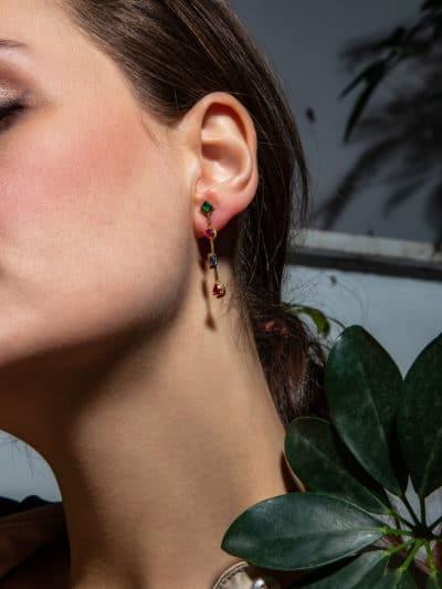 APHODITE EARRINGS 9ct