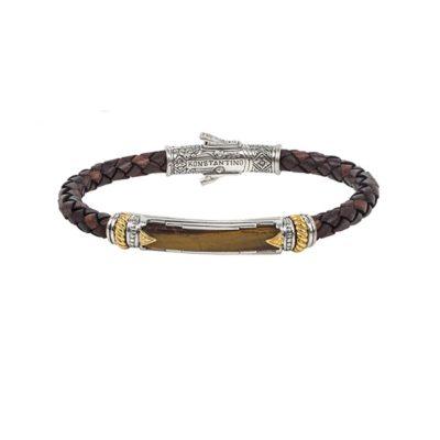 Bracelet Sterling Silver & 18K Gold