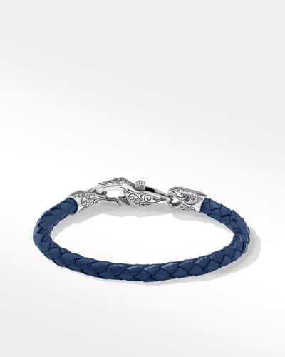BLUE BRACELET STERLING SILVER