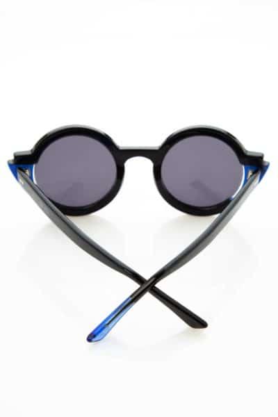 SUNGLASSES X TSEKLENIS BLACK/ELECTRIC BLUE