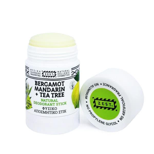 NATURAL DEODORANT TEA TREE