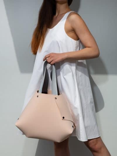 """Handbag """"EvaOri"""" Large in Pink"""